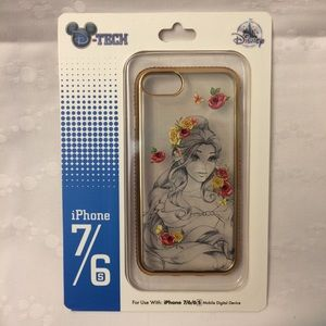 Beautiful Belle Disney iPhone cell cover